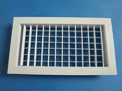 Aluminum air vent grille