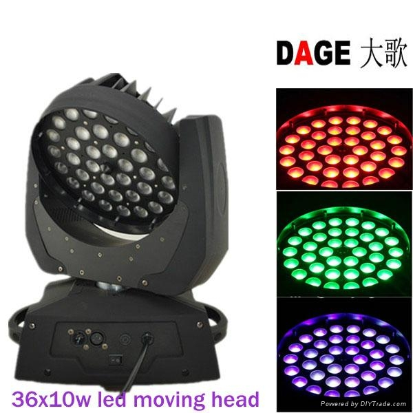 LED moving head 36x10w with zoom stage light 1