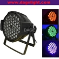 led par can 54x3W RGB/RGBW stage lights