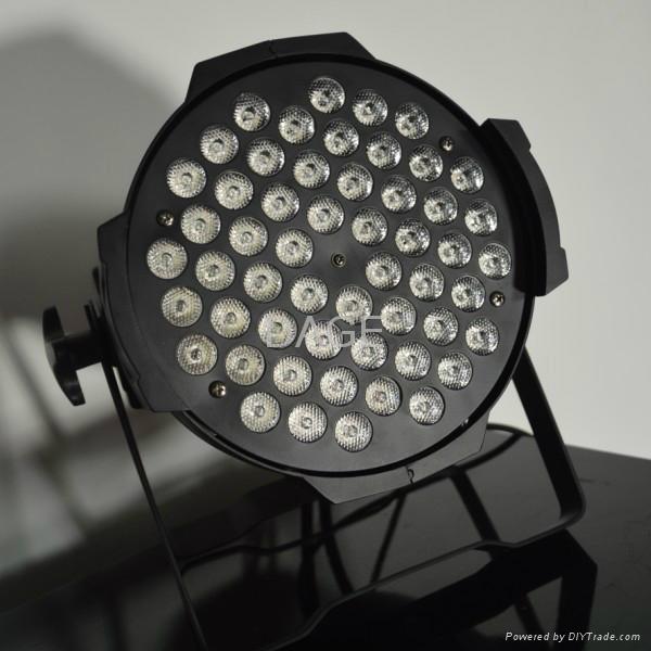 led par can 54x3W RGB/RGBW stage lights 2