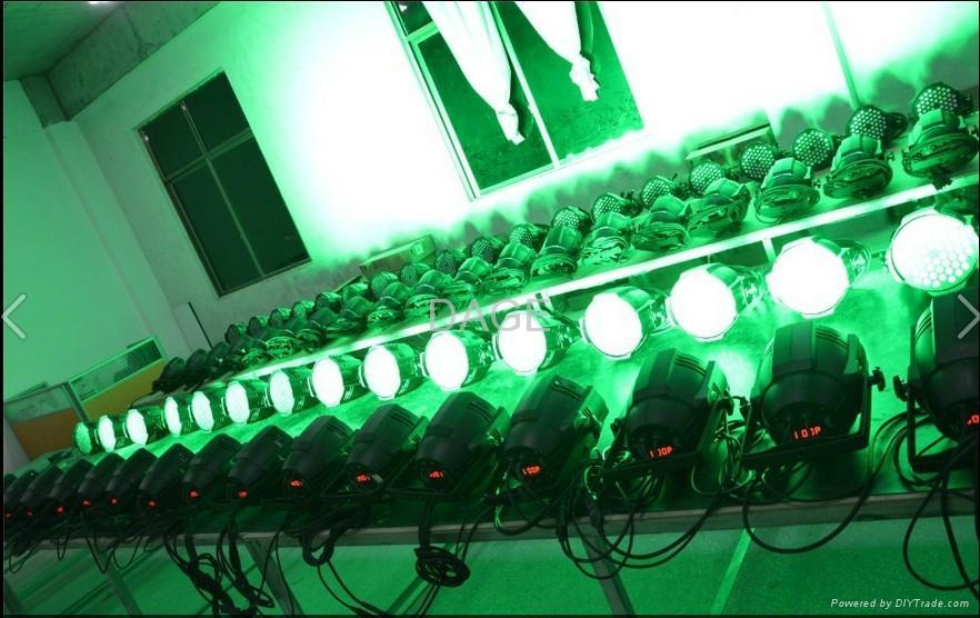 led par can 54x3W RGB/RGBW stage lights 4