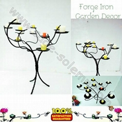 Iron Candle Holder Tree