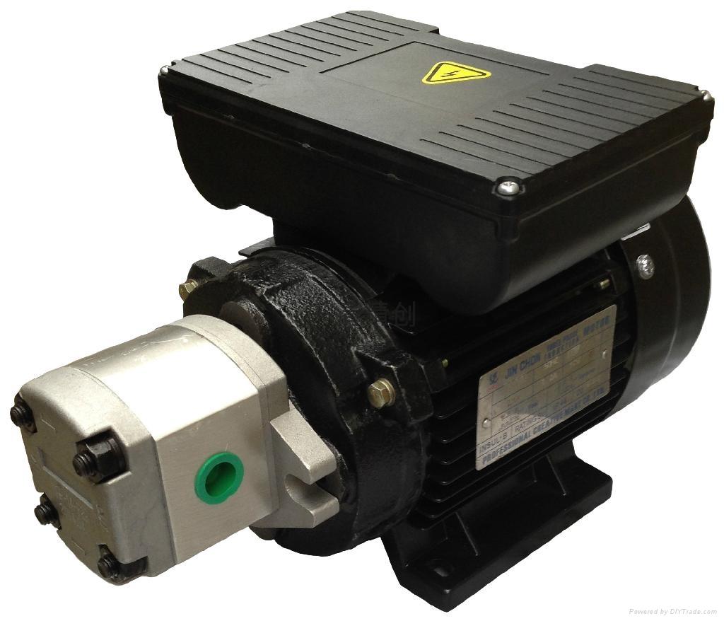 單相0.42KW配HGP-1A油泵電機 1