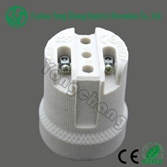 Screw lampholder manufacturer electric porcelain socket