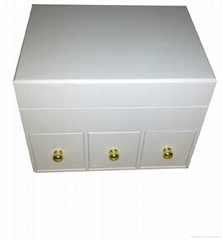 nice designed women paper drawer box for jewelry collection