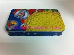 Christmas metal box