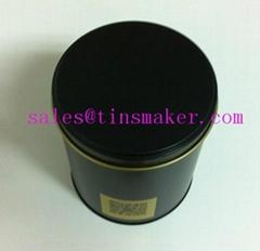 Chocolate tin can