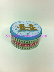 biscuit round tin box