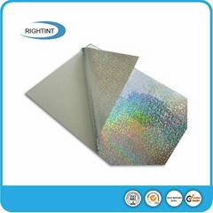 PVC self adhesive holographic film