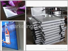 Double sided Fabric LED slim light box