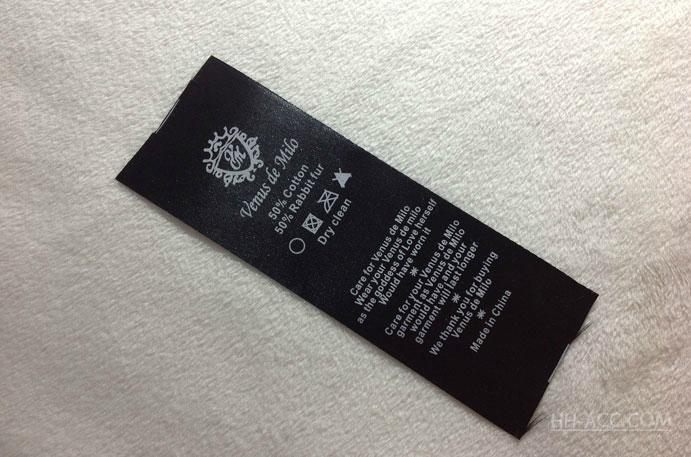 Garment Care Label 4
