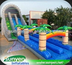 Giant Inflatable Water Slide for Adults Game