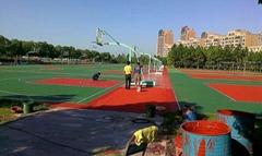 承接籃球場 網球場 5人制人造草坪球場