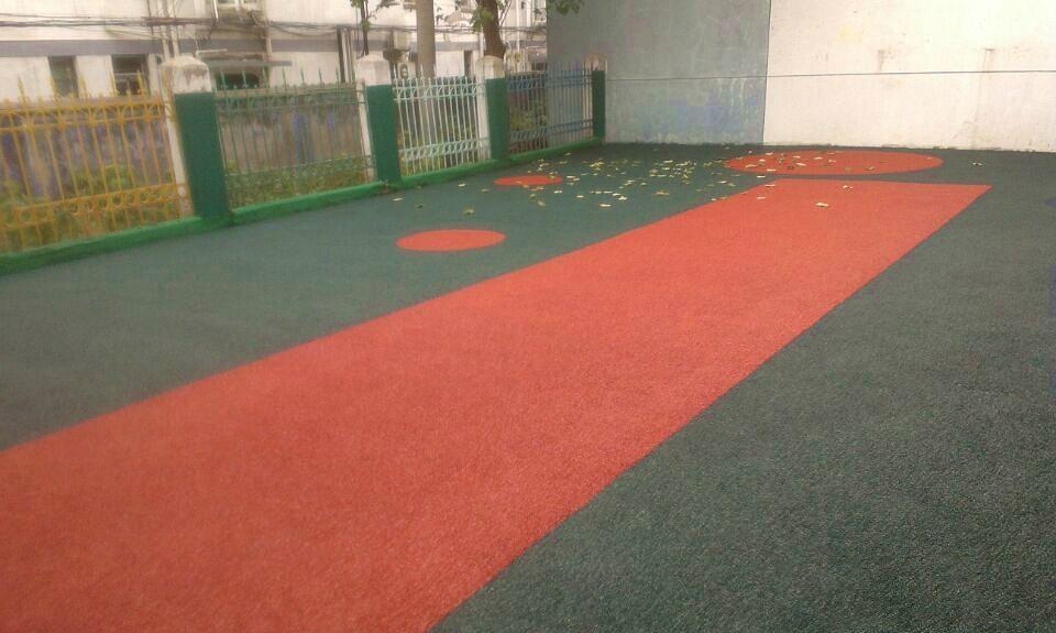 承接籃球場 網球場 5人制人造草坪球場 3
