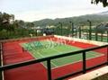 承接籃球場 網球場 5人制人造草坪球場 4
