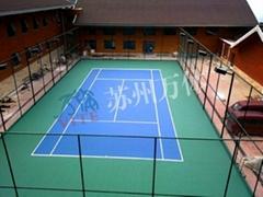 專業資質承接網球場工程