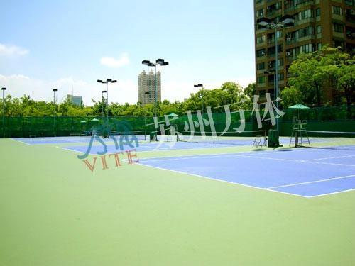 專業資質承接網球場工程 3