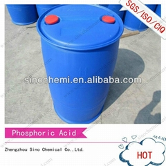 Factory directly 2014 hot exporting Phosphoric acid 54 and 85