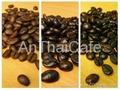 Arabica roasted cofee beans