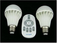 led bulb brightness dimmable color temperature adjustable