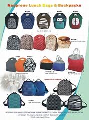 Neoprene Lunch Bags and Backpacks