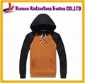 cotton fleece pullover sweatshirt /