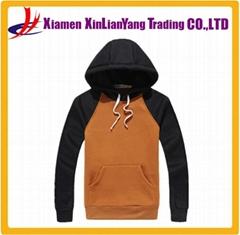 cotton fleece pullover sweatshirt / hoodie