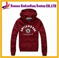Fashion CVC fleece pullover sweatshirt / hoodie 1