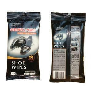 Shoes cleaning wet tissues 1