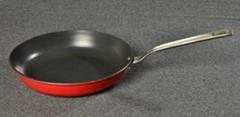 28CM Enameled Cast Iron Fry Pan