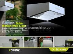 Super bright Led solar lampion motion sensor light