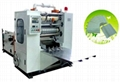 Z fold hand towel paper making machine