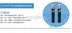YJLHV(TC90)非鎧裝鋁合金電纜