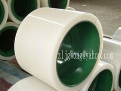"10""  White Rubber Roll For Rice Mill Huller"