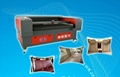 Laser cutting machine for car seat cover