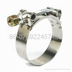 T-type hose clamp(heavy duty hose clamp )