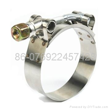 T-type hose clamp(heavy duty hose clamp ) 1
