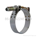 T-type hose clamp(heavy duty hose clamp ) 2