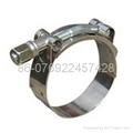 T-type hose clamp(heavy duty hose clamp ) 3