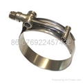 T-type hose clamp(heavy duty hose clamp ) 5