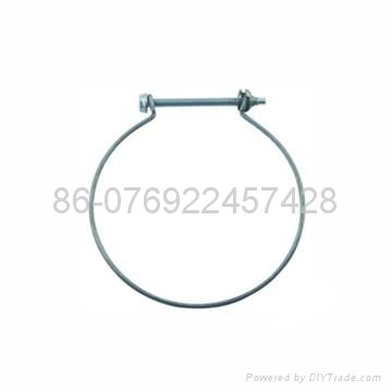 Steel wire hose clamp 1