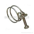 Steel wire hose clamp 4