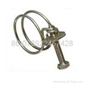 Steel wire hose clamp 2