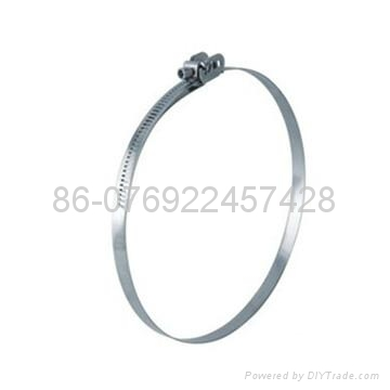 Quick release hose clamp 3