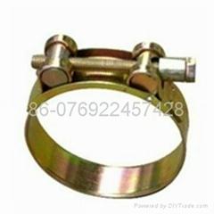 Heavy duty hose clamp