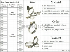 hose clamp&negotiable price&best quality&experience factory