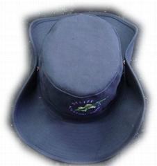 广东广州时尚卷边渔夫帽子