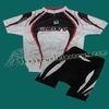 2010 Scott Team White Cycling Jersey and Shorts Set