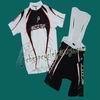2010 Scott Team White Cycling Jersey and Bib Shorts Set