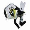"""""""2011 Scott WhiteYellow Cycling Long Sleeve Jersey And Bib Pants Set """""""